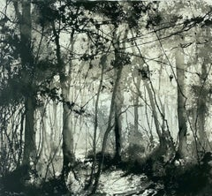 James Bonstow, Beechwood at Greenway, Original Landscape, Woodland Art