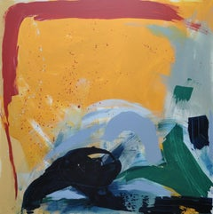Diane Whalley, Heatwave, Original Abstract Expressionist Painting, Art Online