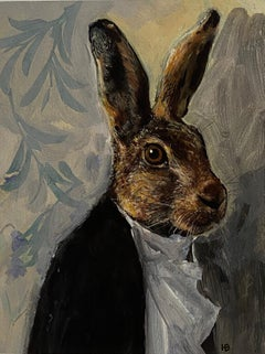 Harry Bunce, Lepus, Affordable Art, Art Online, Contemporary Art, Animal Art