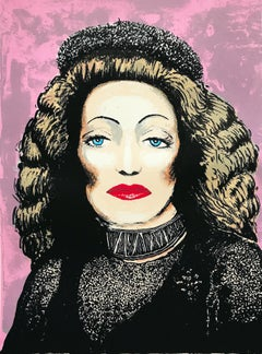 Tim Southall, Lili Marlene, Limited Edition Screen print, Celebrity Art