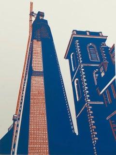 Jennifer Jokhoo, Shard and Old St Thomas', London Art, Cityscape Art, Art Online