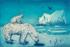 Tim Southall, A Hole in the Ice, Limited Edition Print, Affordable Art