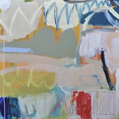 Diane Whalley, What A Day, Original Abstract Expressionist Painting, Art Online