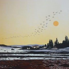 Deb Wing,  Migration - Ardentinny, Limited Edition Print, Affordable Art