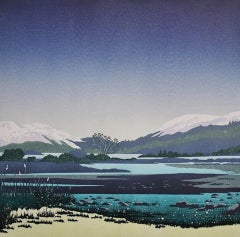 Deb Wing, Winter Beckons - Holy Loch, Limited Edition Print, Landscape Art