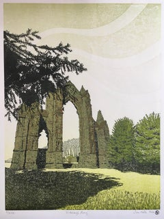 Susan Noble, Gisborough Priory, Affordable Art, Landscape Art, Contemporary Art