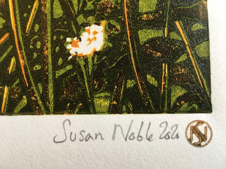 Susan Noble, Patience, Limited Edition Print, Affordable Art, Floral Art For Sale 1