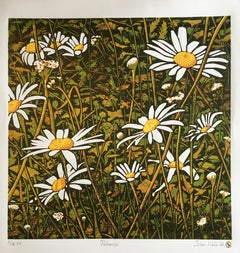 Susan Noble, Patience, Limited Edition Print, Affordable Art, Floral Art