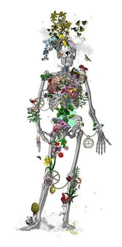 Kristjana Williams, Ad Moldu Skaltu Verda – Still Skeleton White, Affordable Art