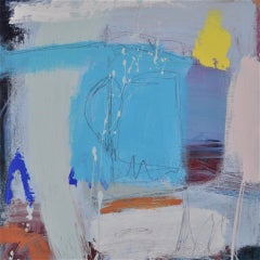 Diane Whalley, Contemplation on the Sand, Original Abstract Painting, Art Online