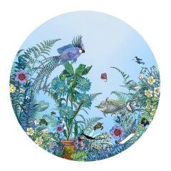 Kristjana Williams, Fugl Ne Fiskur - Circular Sea-Born, Seascape Art, Animal Art