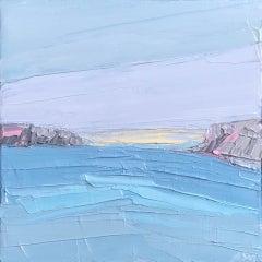 Annabel Menheneott, Lulworth Light, Original Painting, Abstract Art, Art Online