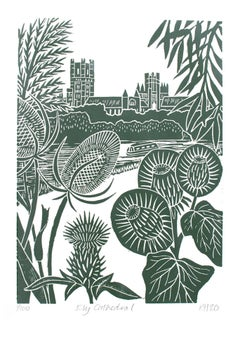 Kate Heiss, Ely Cathedral, Limited Edition Print, Affordable Art, Art Online