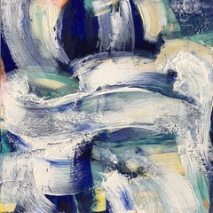 Victoria Harrison, Seafoam, Original Painting, Contemporaray Art, Art Online