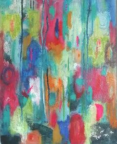 Mary Scott, Oscillation (I), Original Abstract Painting, Contemporary Art