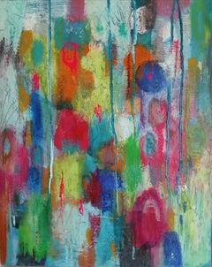 Mary Scott, Oscillation (II), Original Abstract Painting, Contemporary Art