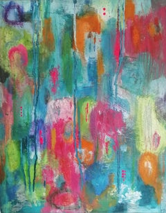 Mary Scott, Oscillation (III), Original Abstract Painting, Affordable Art