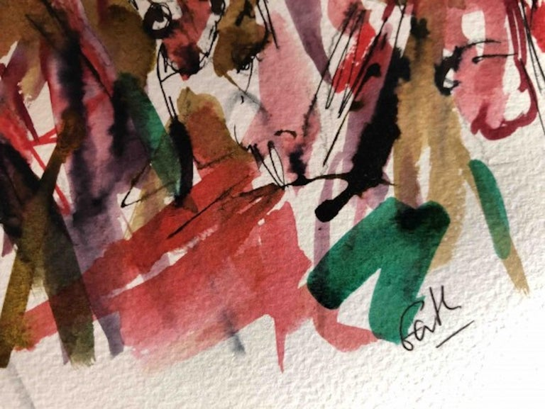 Garth Bayley, Heart of the Race, Horse Racing Art, Contemporary Art, Art Online For Sale 2