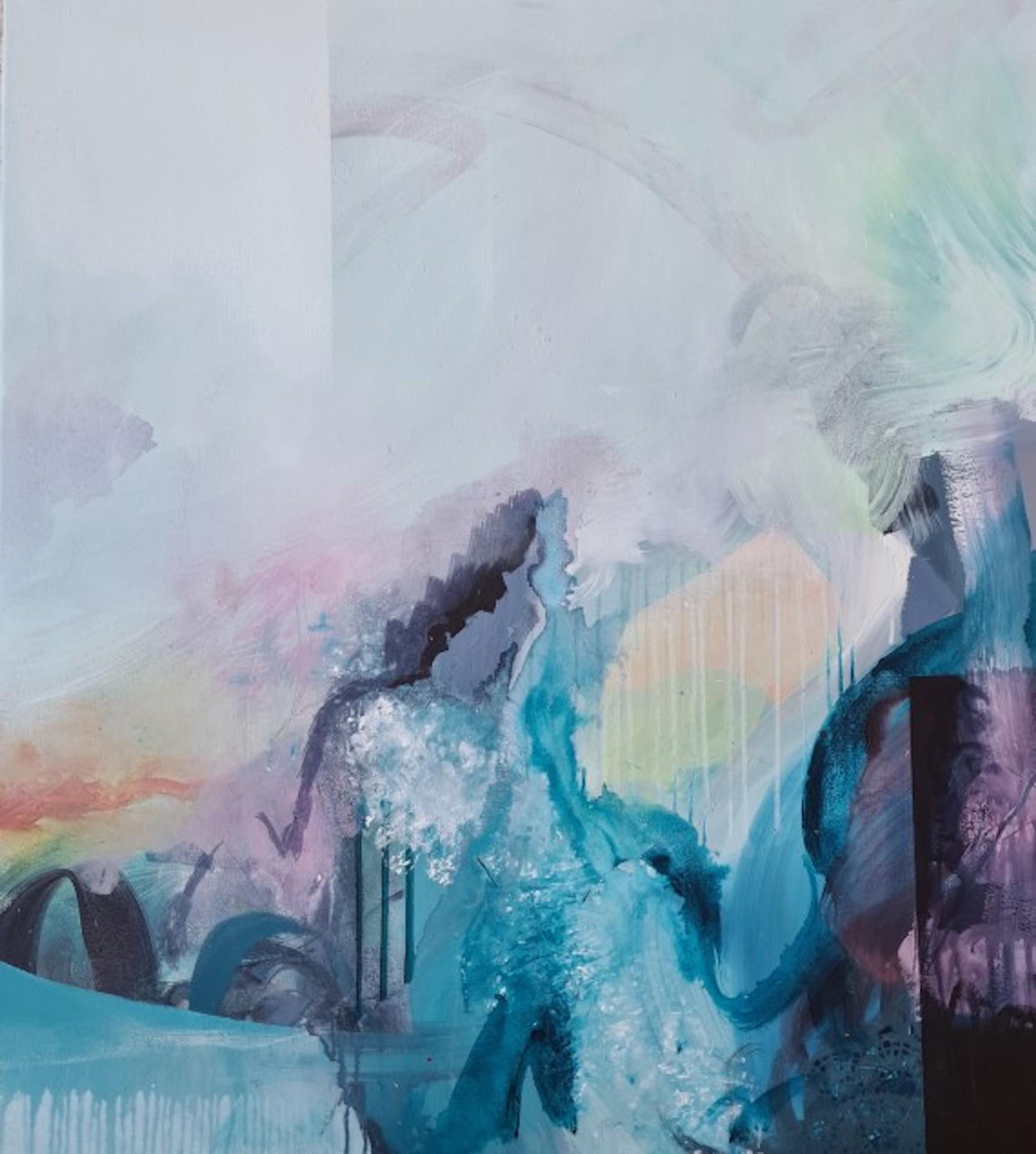 Claire Chandler, The Way Things Were, Contemporary Art, Abstract Art