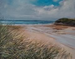 Caroline McMillan Davey, Through The Dune Grass, Original Landscape Painting