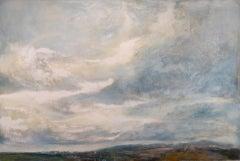Alex McIntyre, Chromatic Grey Skies, Original Landscape Painting