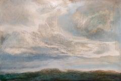 Alex McIntyre, Grey Skies Change, Contemporary Landscape Art, Original Painting