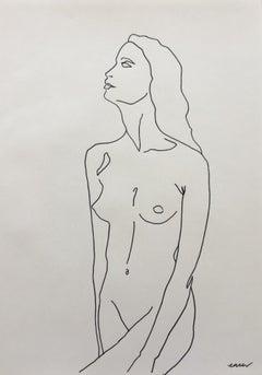 Ellen Williams, Nude 1, Original Nude Drawing, Affordable Art