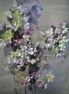 Jo Haran, Season End, Original floral painitng