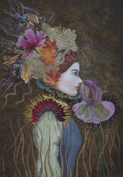The Smell of Forgotten things, limited edition lady portrait print