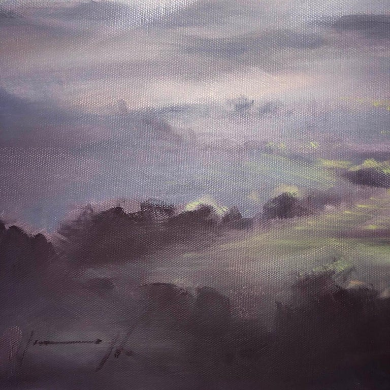 A Wiltshire Sky, Trevor Waugh, Paintings of Wiltshire, Original Oil Paintings For Sale 2