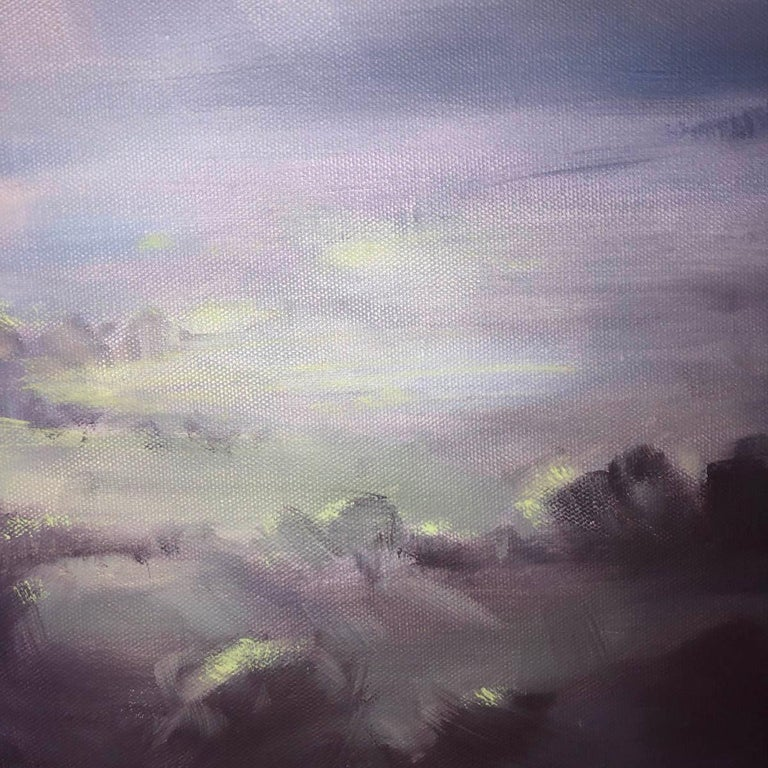 A Wiltshire Sky, Trevor Waugh, Paintings of Wiltshire, Original Oil Paintings For Sale 6