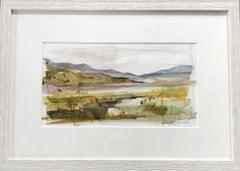 Jemma Powell, Peeping Through the Rushes, Original Watercolour Painting