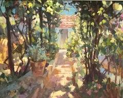 Spanish Light, Trevor Waugh, Original Contemporary Oil Painting, Impressionism