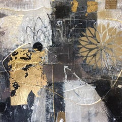 Golden Thread 3 BY JESSICA BROWN, Original Contemporary Painting for Sale Online