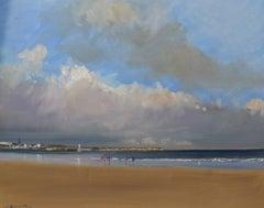 Bridlington by Malcolm Ludvigsen, Original Seascape Painting