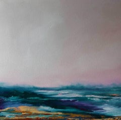 Larks song Over Dartmoor, Sophie Berger, Original Art, Contemporary LandscapeArt