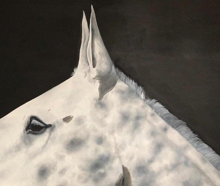 Dapple, Zoe Louise, Animal Art, Horse, Affordable art For Sale 1