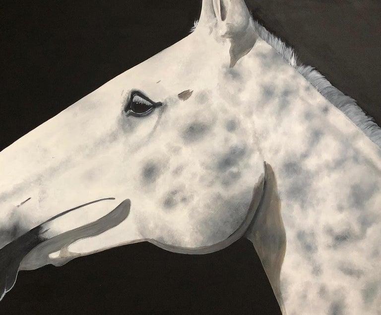 Dapple, Zoe Louise, Animal Art, Horse, Affordable art For Sale 2