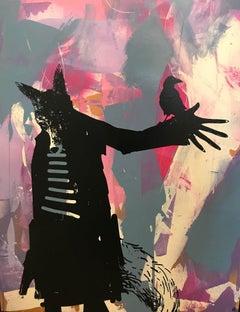 Bedlam's Copse, Harry Bunce, Contemporary art, Mixed media, street art urban art