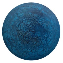 CN 6 - Oil Painting, inspired by surface structure of planets and the moon