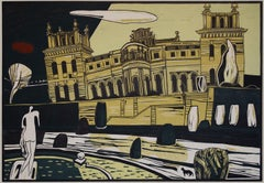 Blenheim Palace, Limited edition Print, Lino Print, Architecture, Colin Moore
