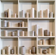 Three Clays II, Emma Bell, Minimal Art, Conceptual Art, Original Ceramic