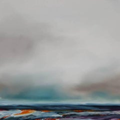 Wilderness, Sophie Berger, Landscape Art, Bright Art, Grey Art, Atmospheric Art