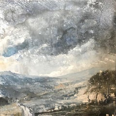 Beginning of a Storm, James Bonstow, Original Contemporary Landscape Painting