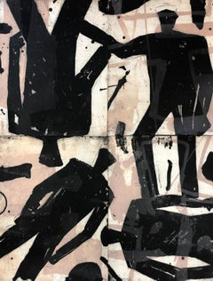 Four Figures BY GRAHAM FRANSELLA, Figurative Art, Abstract Art, Statement Art