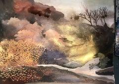 Forest, Daisy Clarke, Contemporary Landscape Painting, Original Artwork