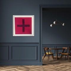 Chris Levine, Cross Print 7, Light Art, Conceptual Art, Original Investment Art
