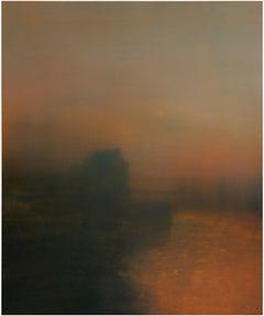 Lancing Morn, Richard Whadcock, Contemporary Drawing, Original Soft Focus Art
