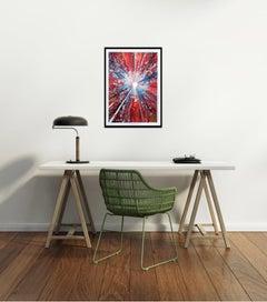 Chris Keegan, Boom, Bright Abstract Art, Portrait Art, Long Art, Affordable Art