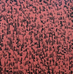 Dian, Robert Dunt, Original Abstract Painting, Red and Black Painting